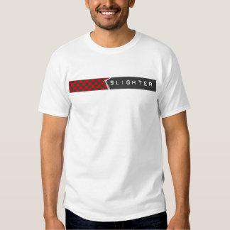 black + red checks t shirt