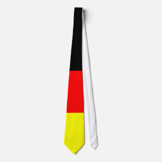 black-red-golden football Germany Tie