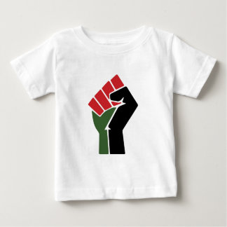 Black Red Green Fist Baby T-Shirt