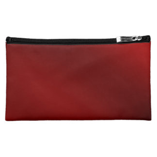 BLACK RED Medium Cosmetic Bag