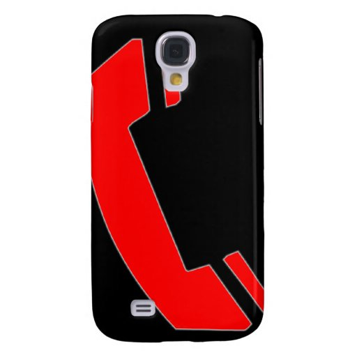 black-red phone iPhone 3g 3gs Galaxy S4 Cover