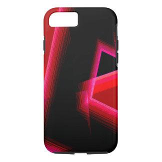 Black Red Tones iPhone 7 case