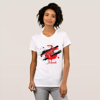 Black, Red & White Hot High Heels T-Shirt