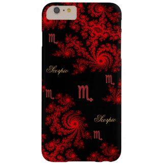 Black Red Zodiac Sign Scorpio iPhone 6 Plus Case