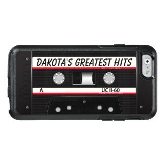 Black Retro Cassette Otterbox iPhone 6/6s Case