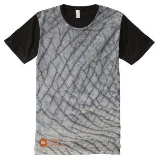 Black Rhino Awareness All-Over Print T-Shirt