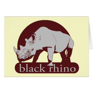 black rhino card