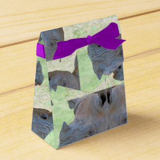 Black Rhino Favour Box
