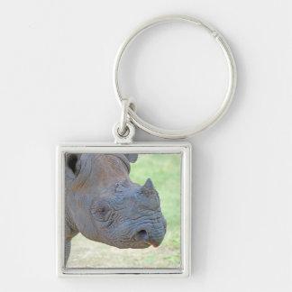 Black Rhino Key Ring