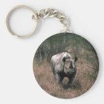 Black Rhino Keychains
