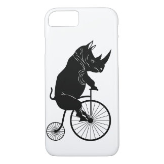 Black Rhino on Vintage Bike iPhone 8/7 Case