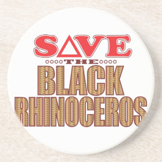 Black Rhino Save Coaster