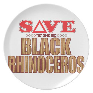 Black Rhino Save Plate