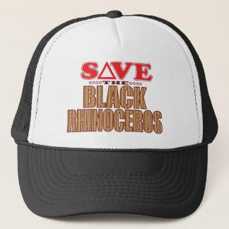 Black Rhino Save Trucker Hat
