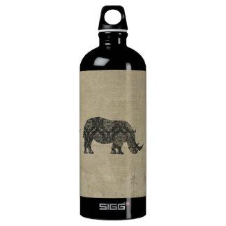 Black Rhinoceroses Silhouette Liberty Bottle SIGG Traveller 1.0L Water Bottle