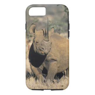 Black Rhinocerous, (Diceros bicornis), Northern iPhone 8/7 Case