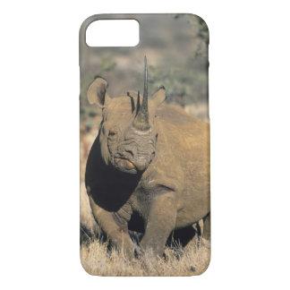 Black Rhinocerous, (Diceros bicornis), Northern iPhone 8/7 Case