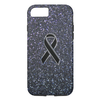 Black Ribbon Decor iPhone 7 Case