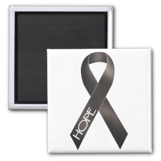 Black Ribbon Magnet