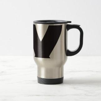 Black Ribbon Travel Mug