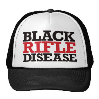 Black Rifle Disease - Red and Black Cap
