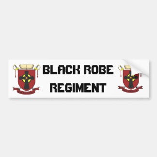 BLACK ROBE REGIMENT BUMPER STICKER