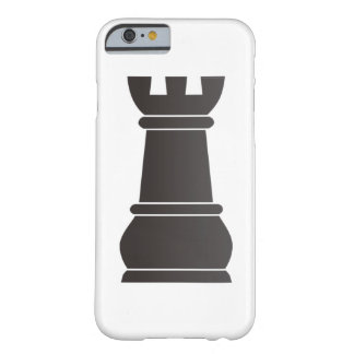 Black rock chess piece barely there iPhone 6 case