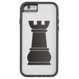 Black rock chess piece tough xtreme iPhone 6 case