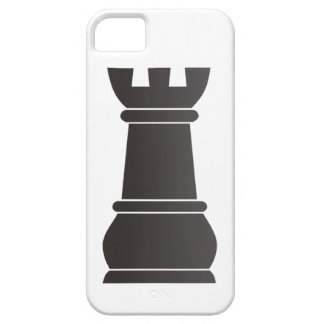 Black rock chess piece iPhone 5 cover