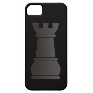 Black rock chess piece iPhone 5 cases