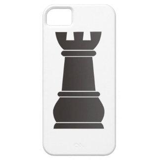 Black rock chess piece iPhone 5 case
