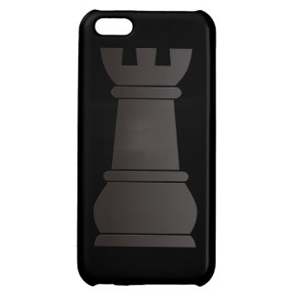 Black rock chess piece iPhone 5C cases