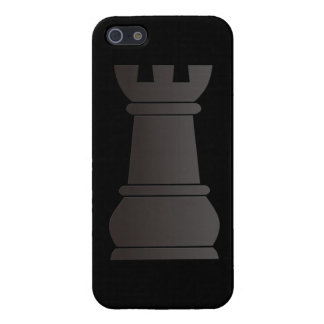 Black rock chess piece case for iPhone 5