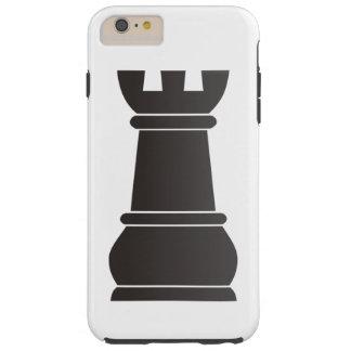 Black rock chess piece tough iPhone 6 plus case