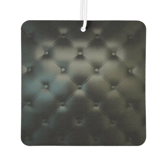 Black Romantic Beautiful Leather Car Air Freshener
