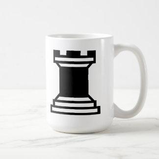 Black Rook Basic White Mug