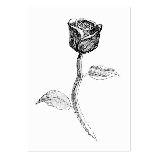 Black Rose. Business Cards