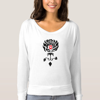 Black Rose Fleur de Kiss Shirt