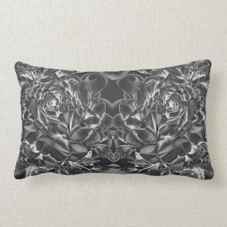Black Rose Lumbar Cushion