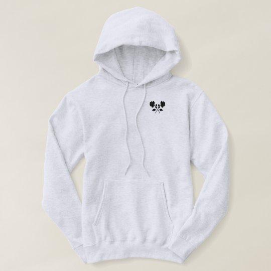 Black Roses Men's Basic Hooded Sweatshirt