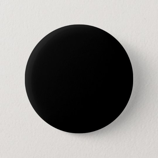 Black Round 6 Cm Round Badge