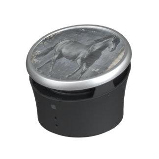 Black Running Stallion Speaker