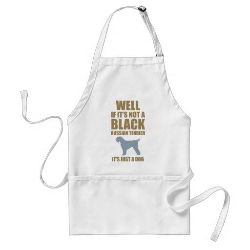 Black Russian Terrier Standard Apron