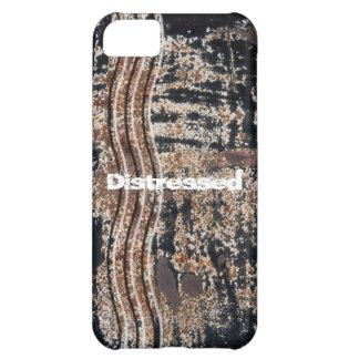 Black Rusty Metal Grunge Photograph iPhone 5C Case