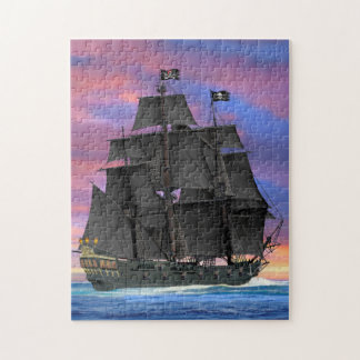 Black Sails of the Seven Seas Jigsaw Puzzle