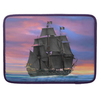 Black Sails of the Seven Seas Sleeve For MacBooks