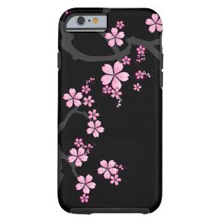 Black Sakura - Japanese Design iPhone 6 case Tough iPhone 6 Case