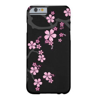 Black Sakura - Japanese Design iPhone 6 case Barely There iPhone 6 Case