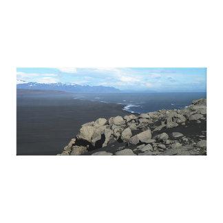 Black Sands of Iceland canvas