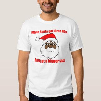 Black Santa, Bigger sack Tee Shirts